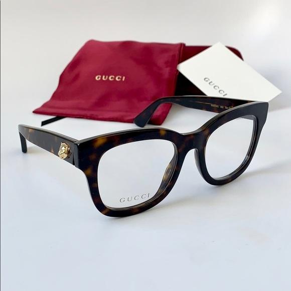 333a9b3b2c6 Gucci Women Eyeglasses Square Acetate GG0033O-002